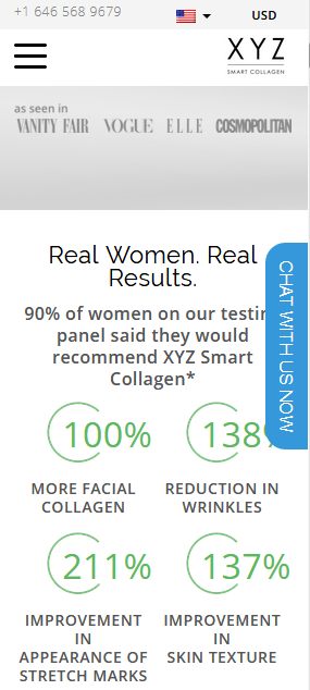 smart xyz collagen cream